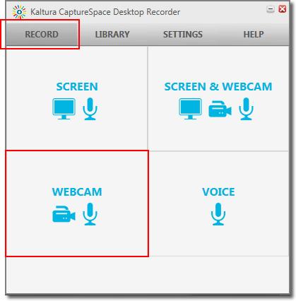 CaptureSpace webcam video